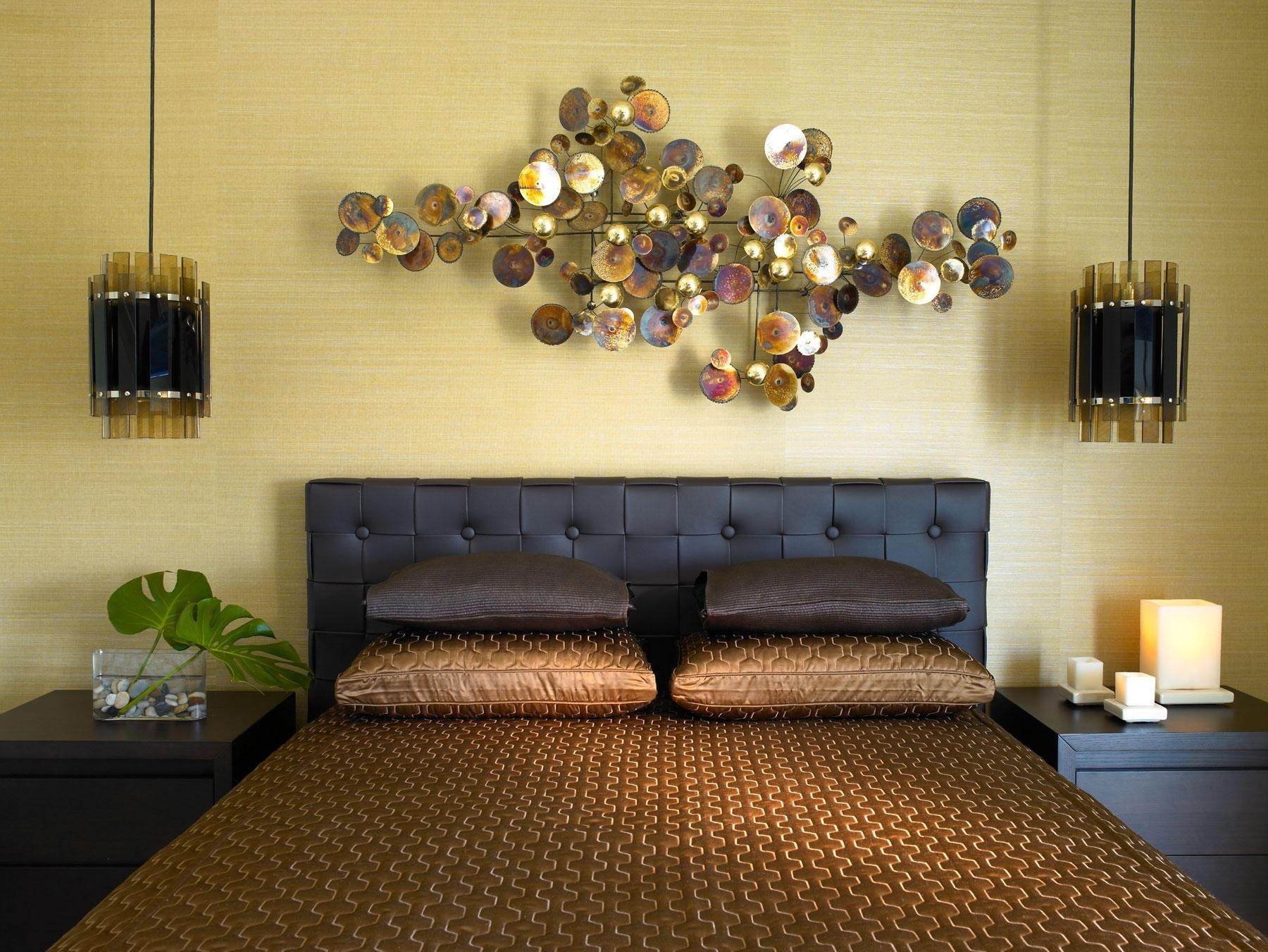 Wall Art Over Bed Home Design Styles Interior Ideas Superb For Wall Art Over Bed (View 10 of 20)