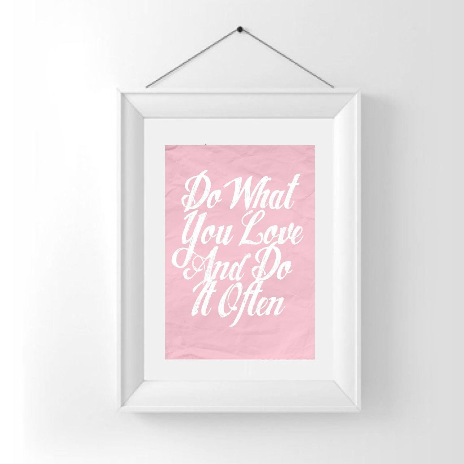 Featured Image of Inspirational Wall Art For Girls