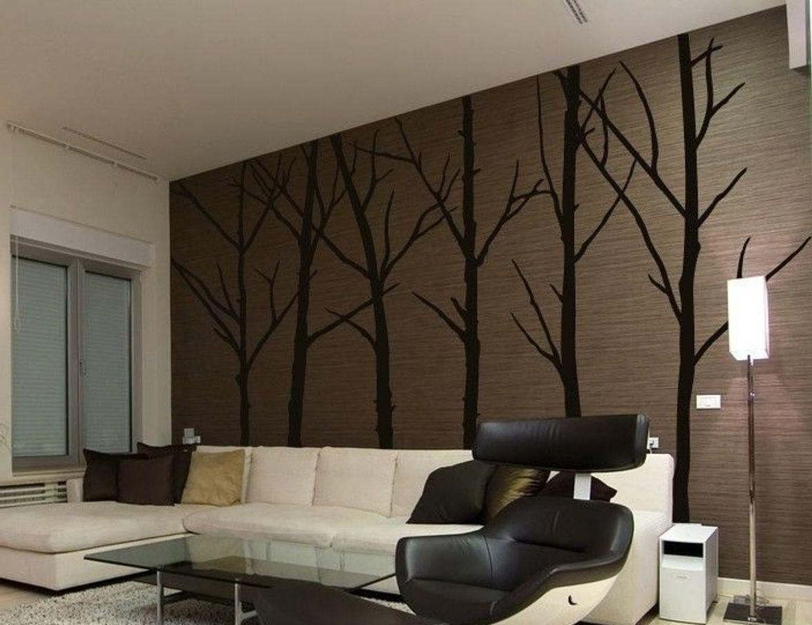 Wall Art Stickers For Living Room Home Decor Home Wall Decoration Throughout Oak Tree Vinyl Wall Art (View 13 of 20)