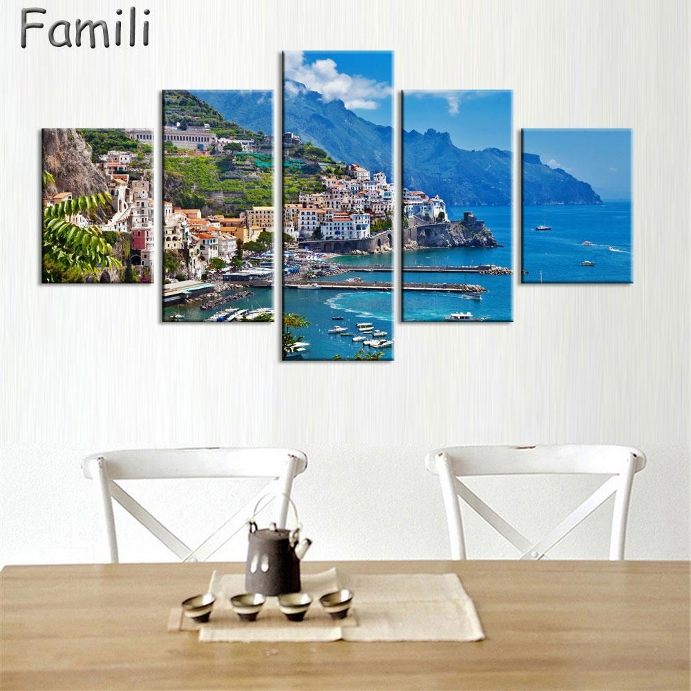 Wall Art Traditional Promotion Shop For Promotional Wall Art Regarding Italian Coast Wall Art (View 15 of 20)