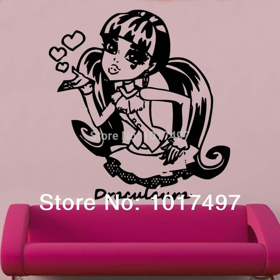 Wall Decal: Monster High Wall Decals For Girl Monster High Wall Inside Quadrophenia Wall Art (Image 22 of 23)