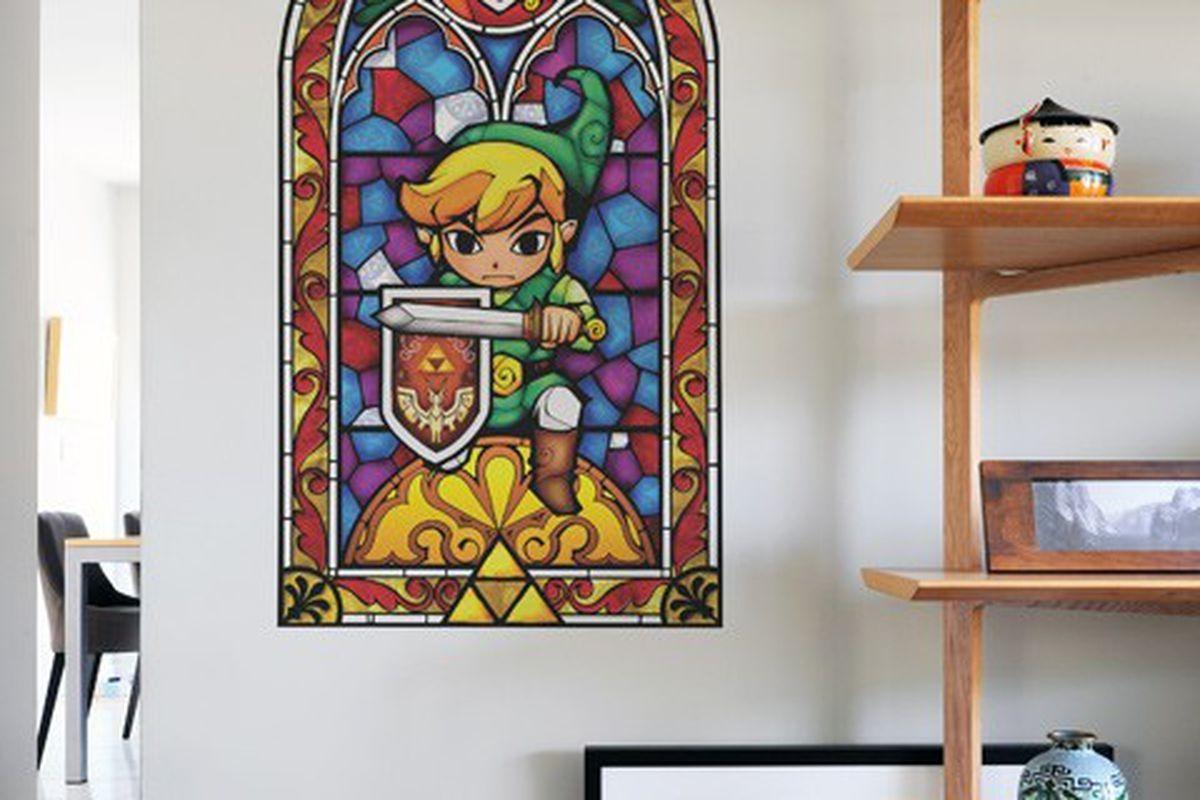 Wall Decals Open A Window To The Legend Of Zelda: The Wind Waker Regarding Blik Wall Art (Image 18 of 20)