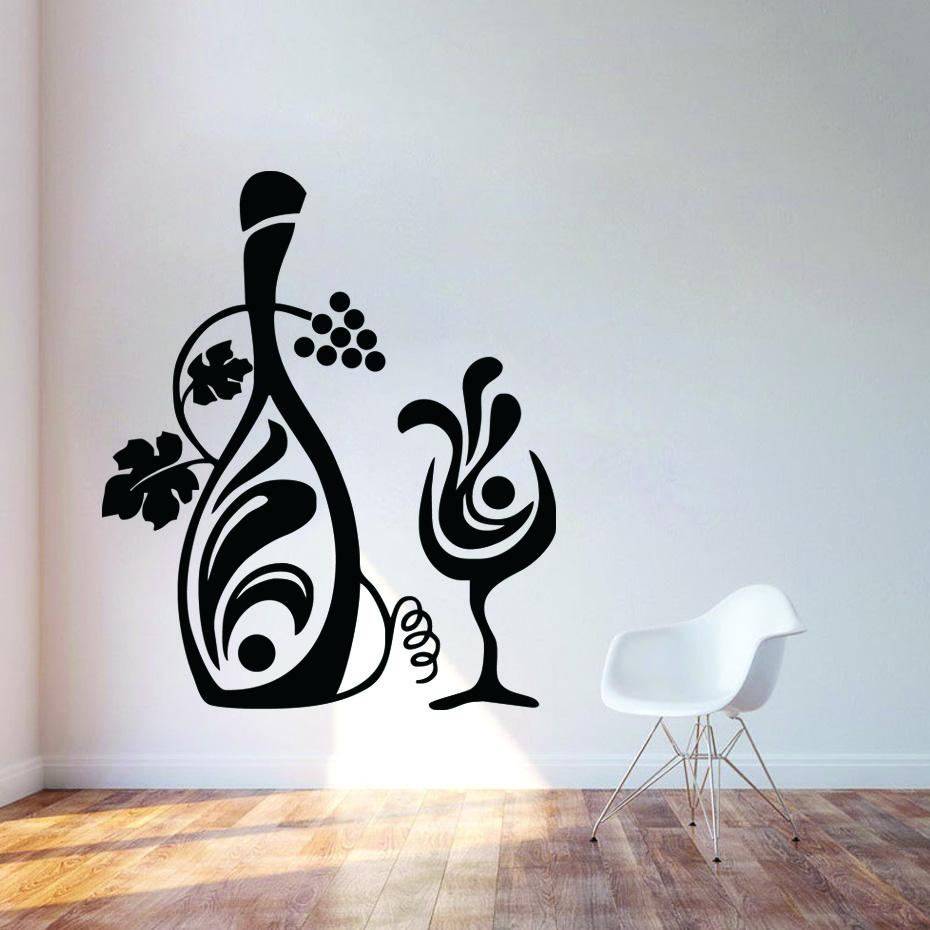 Wall Decals Picture – More Detailed Picture About Kitchen Decor With Grape Vine Wall Art (View 17 of 20)