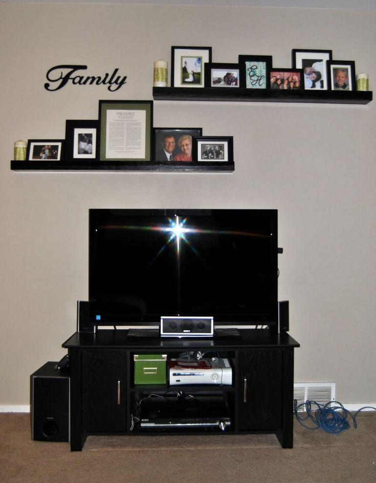 Wall Decor Above Tv Home Interior Design Ideas Awesome – Lovely With Newest Over Tv Shelves (Image 19 of 20)