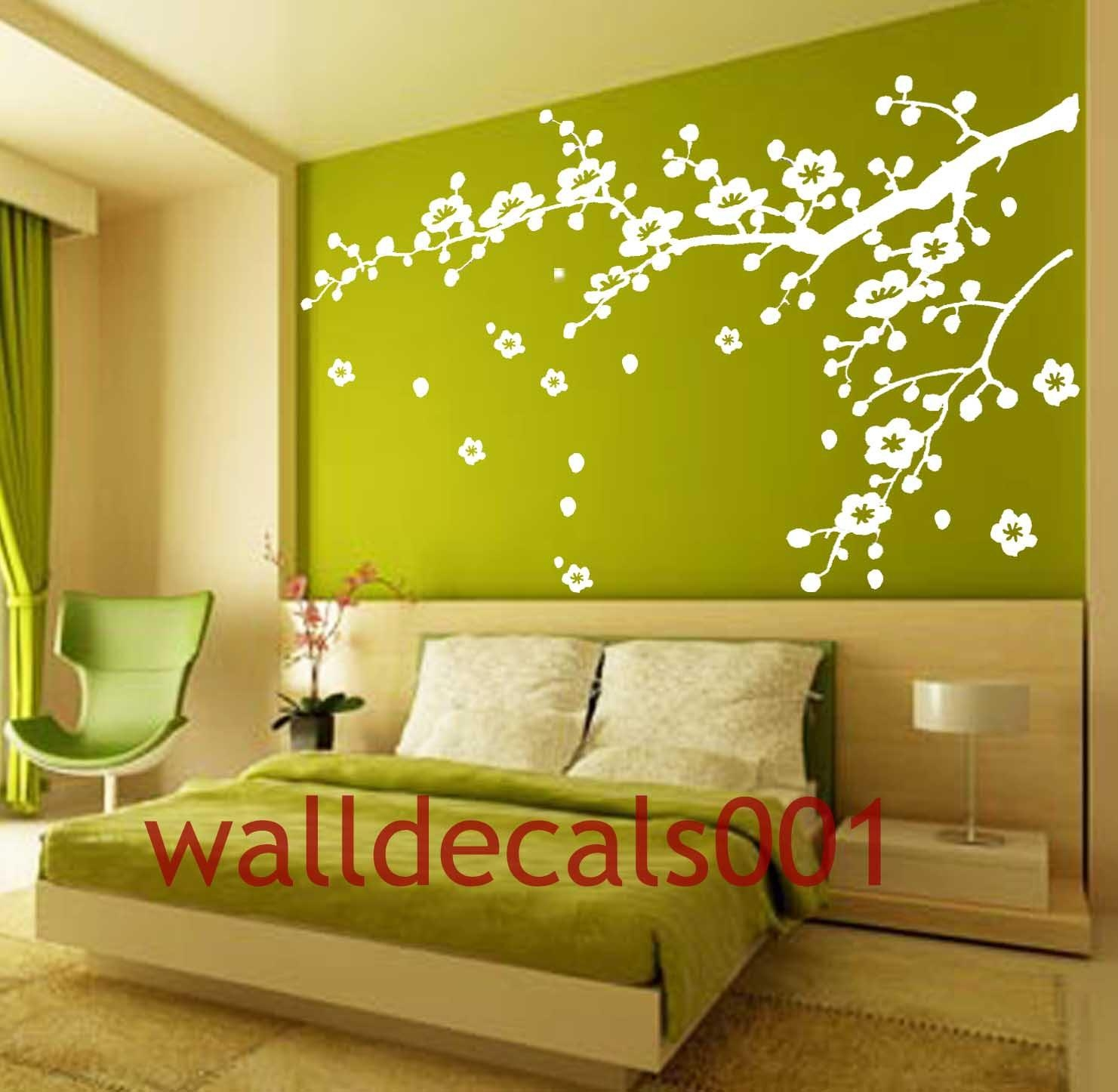 Wall Decor Decals | Simple Home Decoration Intended For Cherry Blossom Vinyl Wall Art (View 13 of 20)