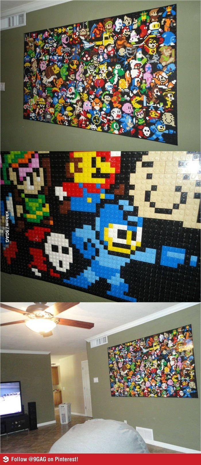 Wall Decor: Game Room Wall Art Pictures. Wall Design (Image 12 of 20)