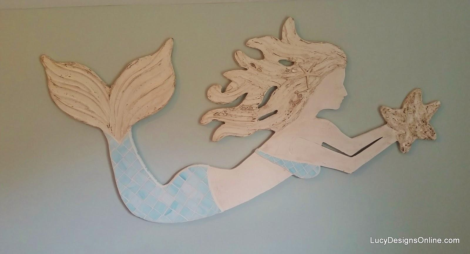 Wall Decor: Mermaid Wall Art Pictures. Design Ideas (Image 11 of 20)