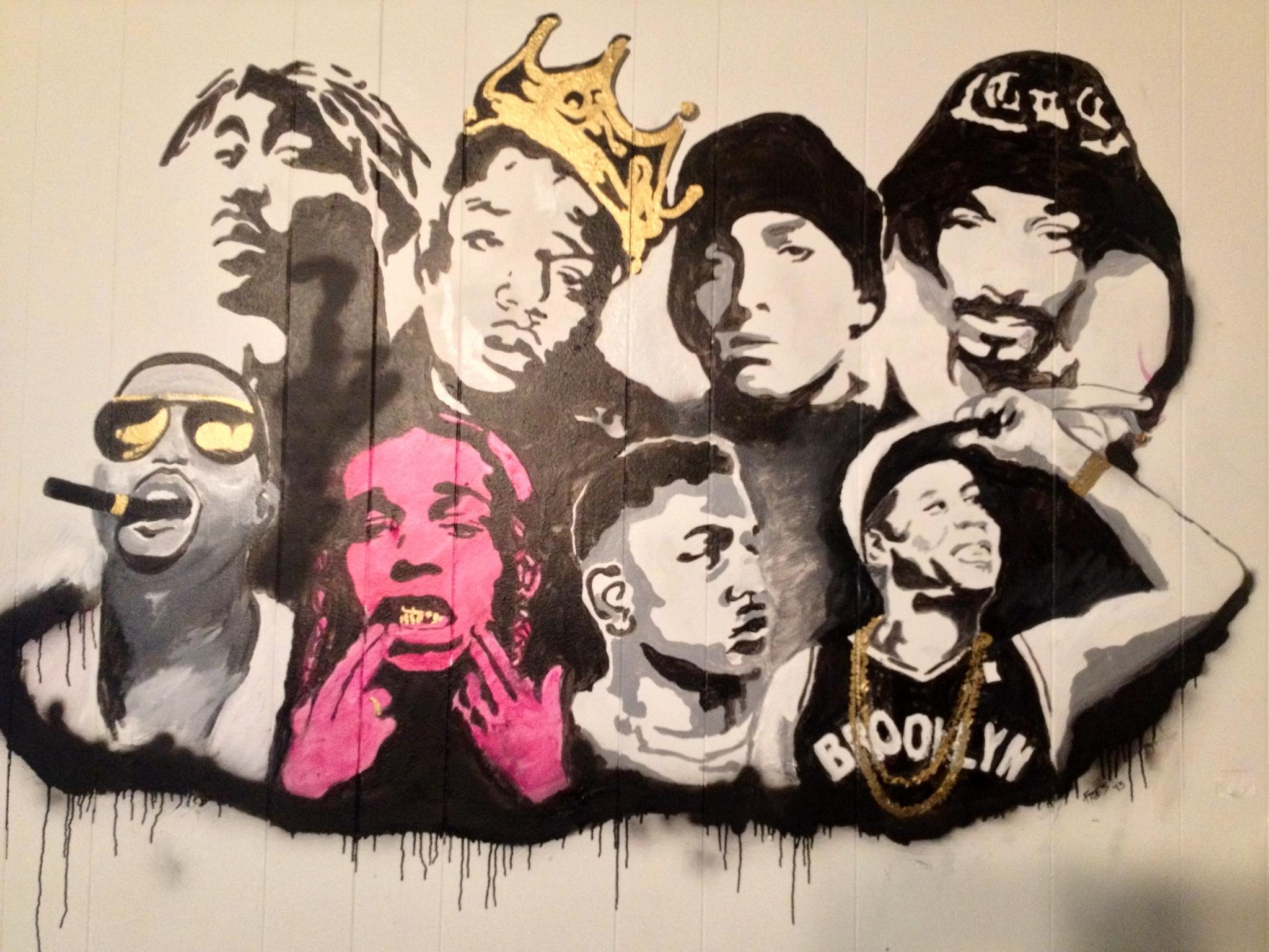 Wall Decor: Tupac Wall Art Design. Tupac Wall Art (View 6 of 20)