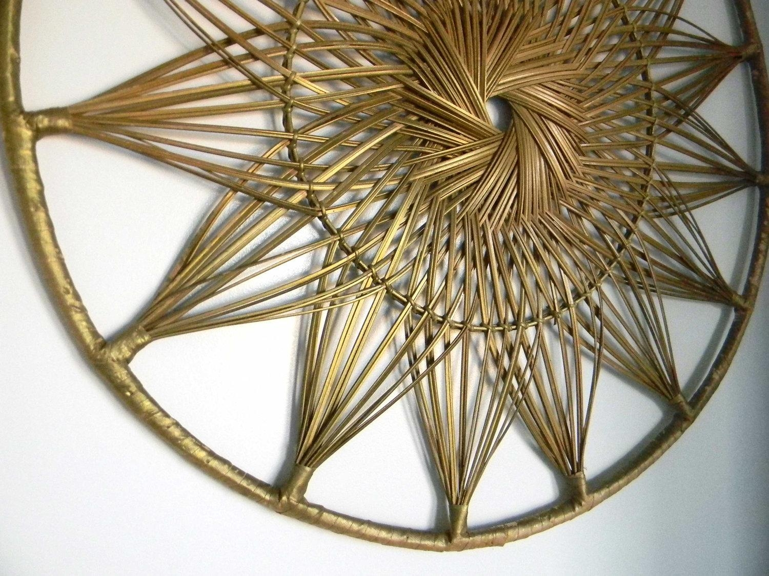 Wall Decor: Wicker Wall Decor Images. Trendy Wall (Image 13 of 20)