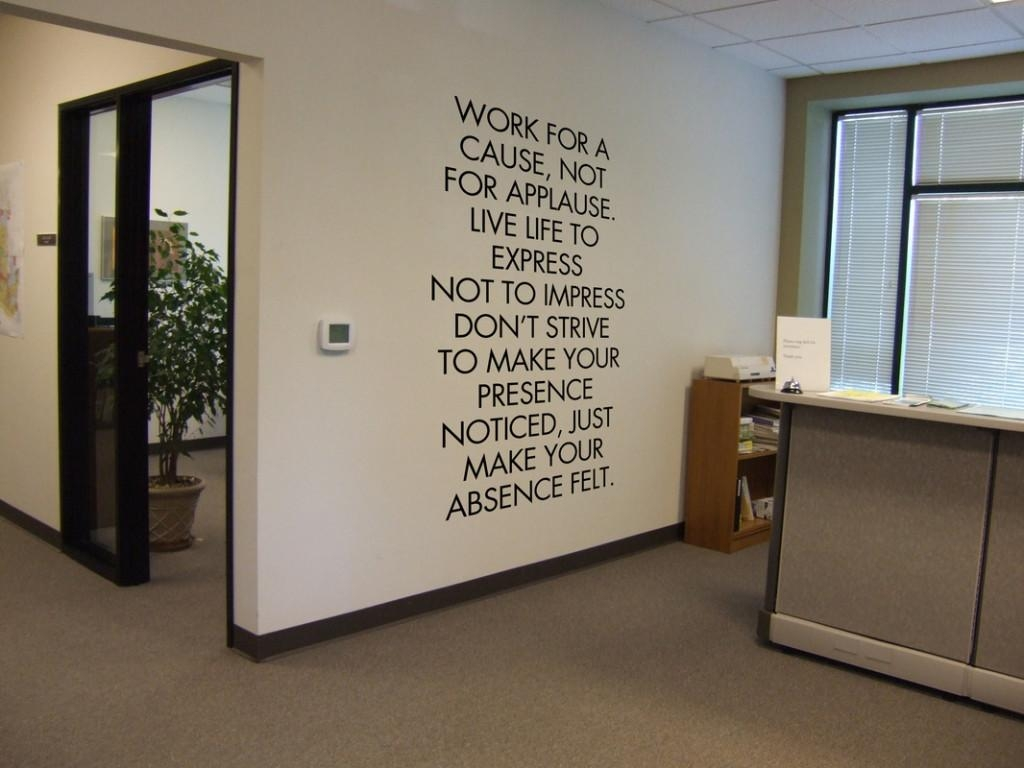 Wall Decorations For Office Extraordinary Ideas Delightful With Motivational Wall Art For Office (View 18 of 20)