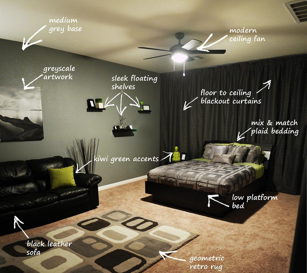 Wall Design: Bachelor Pad Wall Art Photo. Trendy Wall (Image 17 of 20)