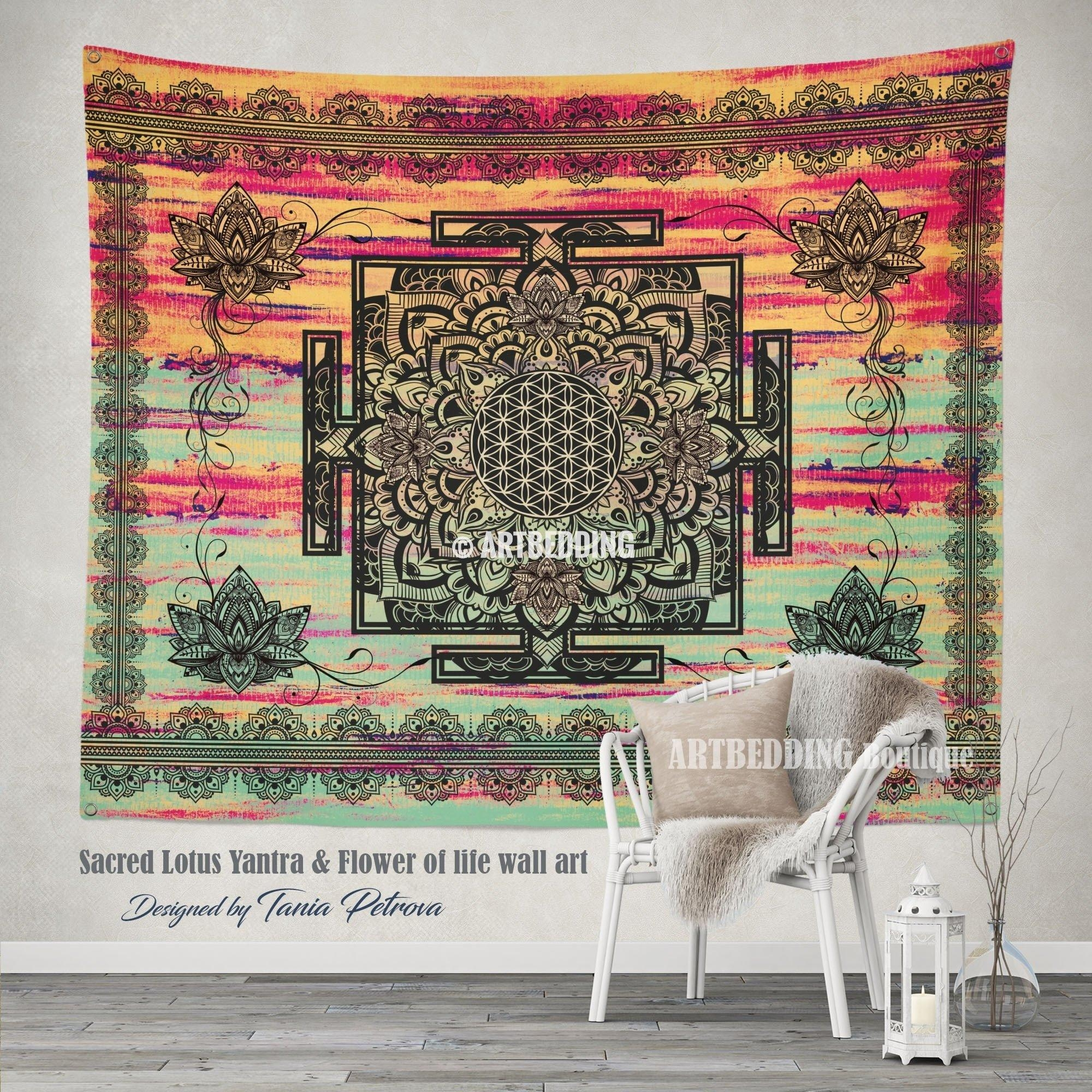 Wall Design: Boho Wall Art Design. Boho Wall Art Ideas (Image 16 of 20)