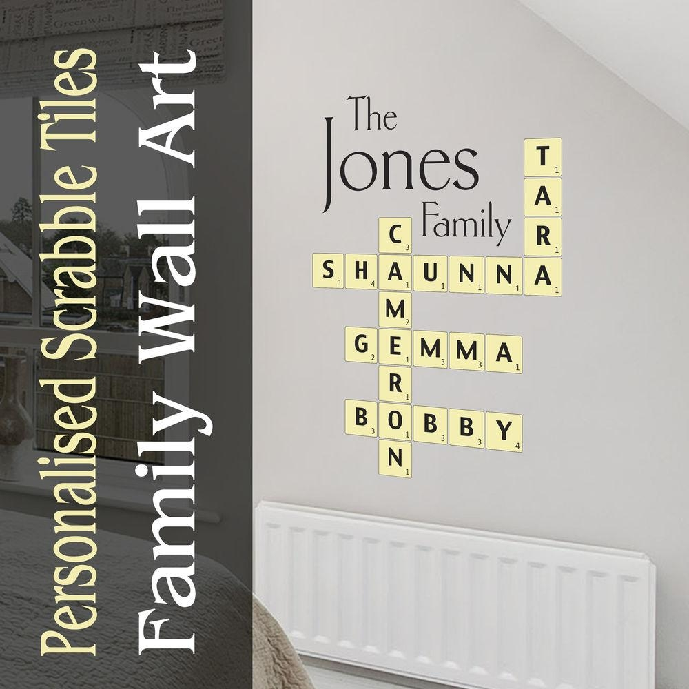 Wall Design: Family Name Wall Art Inspirations (Image 18 of 20)