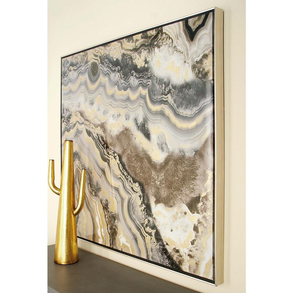 Wall Design: Marble Wall Art Inspirations. Design Ideas (View 6 of 20)