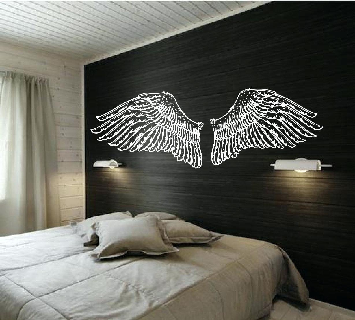 Wall Ideas: Angel Wings Wall Decor (Image 17 of 20)