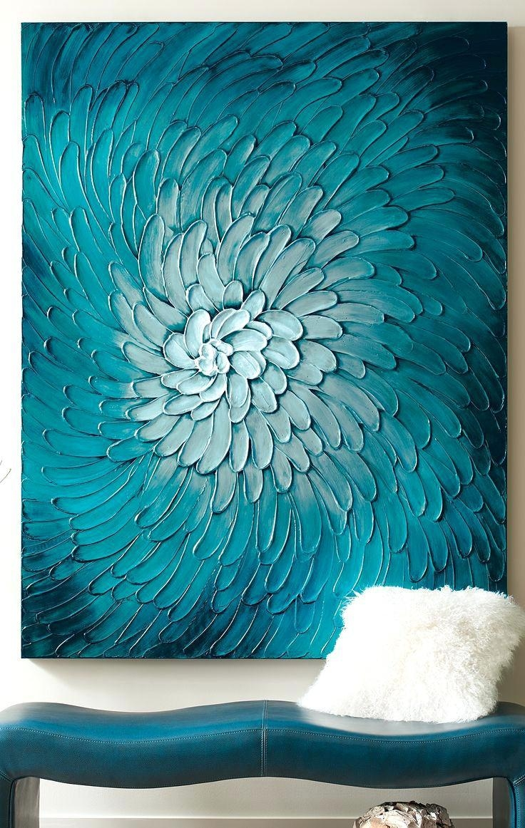 Wall Ideas: Aqua Wall Art. Aqua Wall Art (View 10 of 20)