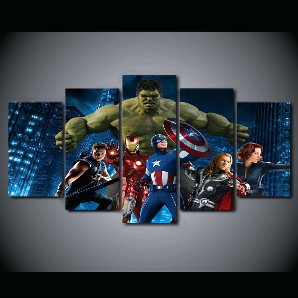 Wall Ideas: Avengers Wall Art (Image 20 of 20)