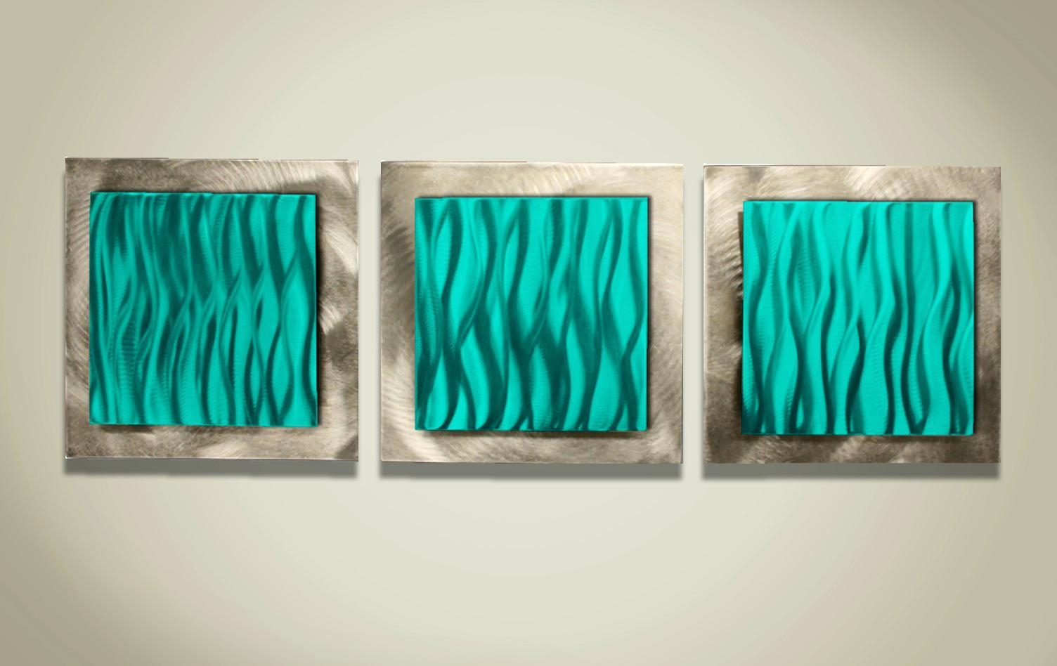 Wall Ideas : Beach Wall Art Nz Beach Themed Wall Art Beach Wall Regarding Teal And Brown Wall Art (View 7 of 20)