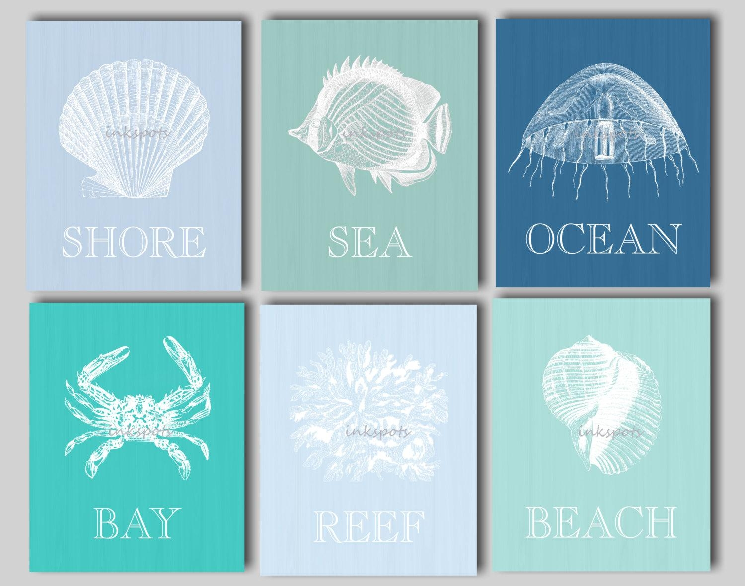Wall Ideas: Beachy Wall Art Images. Wall Decor. Trendy Wall (View 17 of 20)