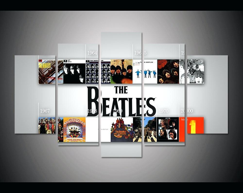 Wall Ideas: Beatles Wall Art (Image 19 of 20)
