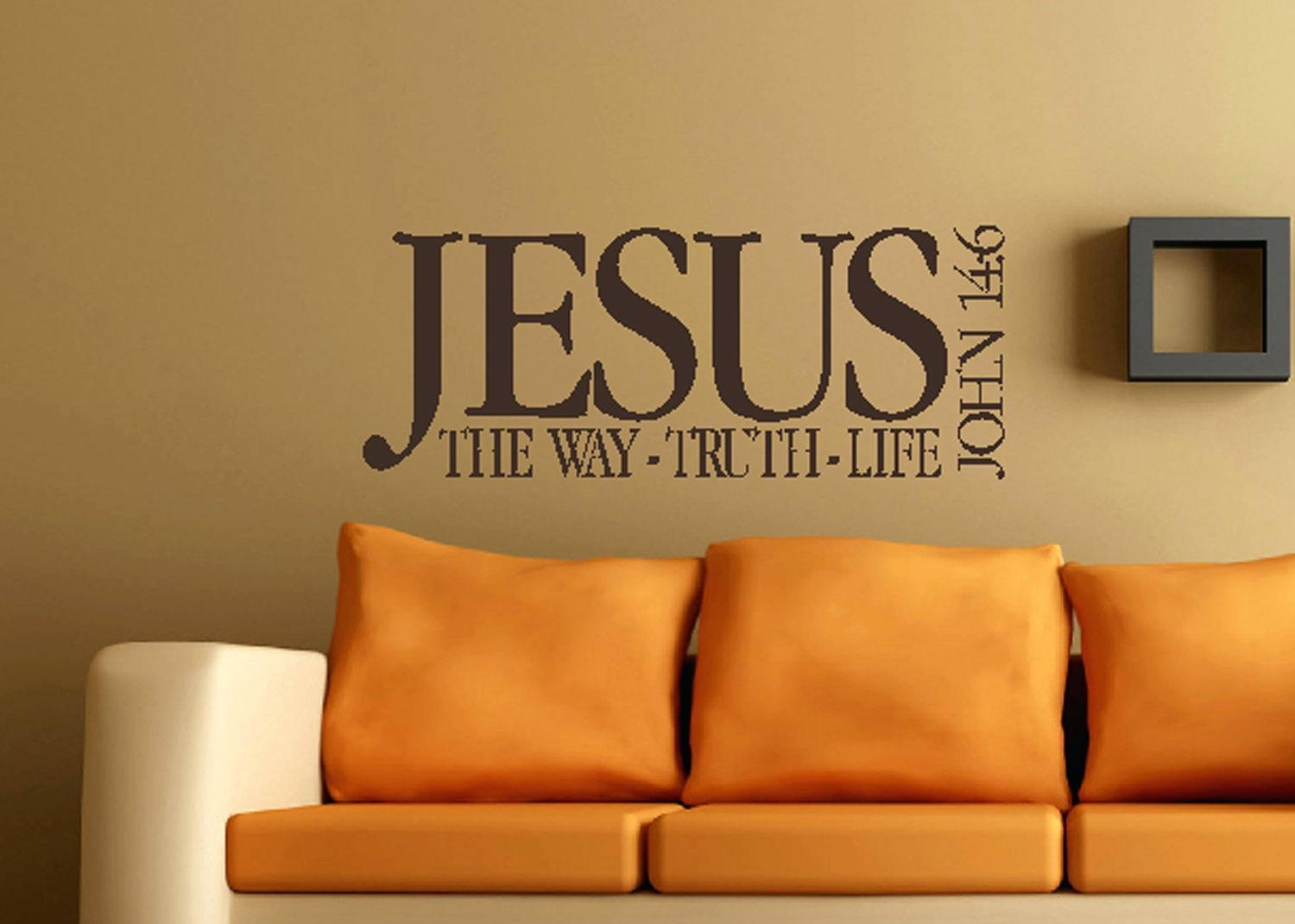 Wall Ideas : Bible Verse Vinyl Wall Decals Bible Verse Wall Decor With Regard To Scripture Vinyl Wall Art (View 18 of 20)