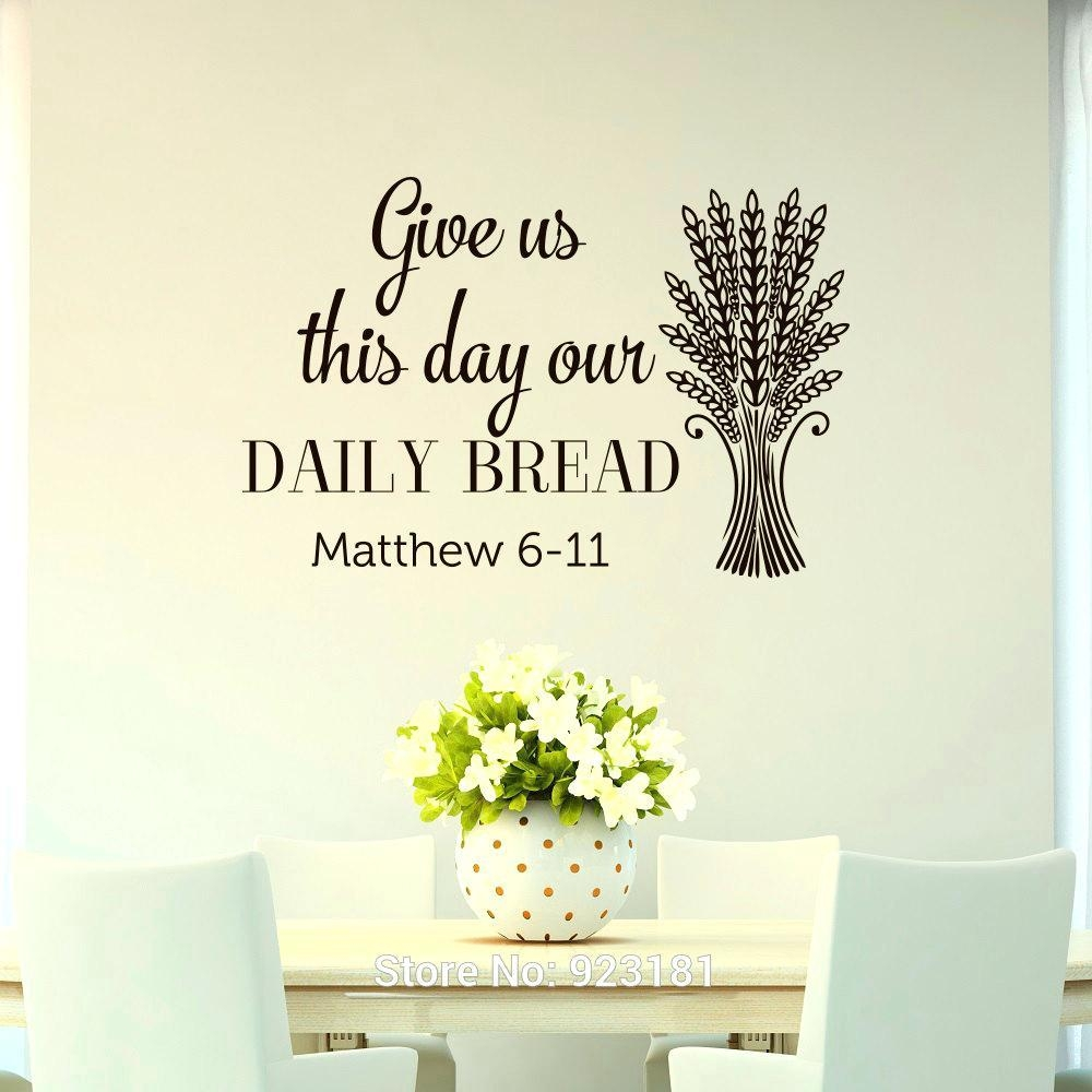 Wall Ideas: Bible Verse Wall Decor (View 10 of 20)