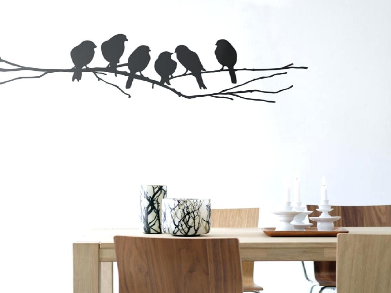 Wall Ideas: Birds Wall Art. Metal Wall Art Birds In Flight (Image 19