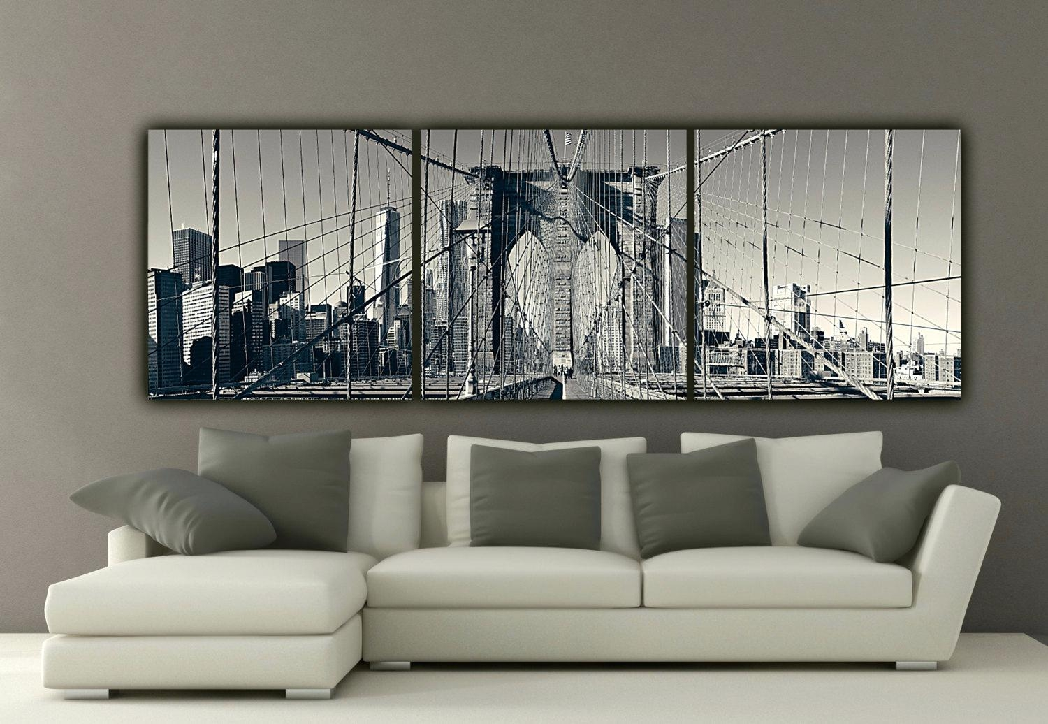 Wall Ideas : Brooklyn Bridge Art Print New York Brooklyn Bridge Throughout Ikea Brooklyn Bridge Wall Art (Image 15 of 20)