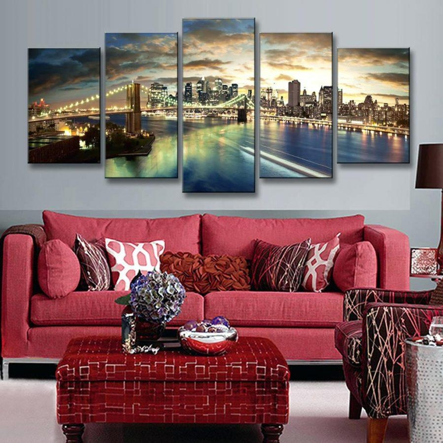 best interesting amazing wall ideas brooklyn bridge glass wall art zoom ikea brooklyn inside. Black Bedroom Furniture Sets. Home Design Ideas