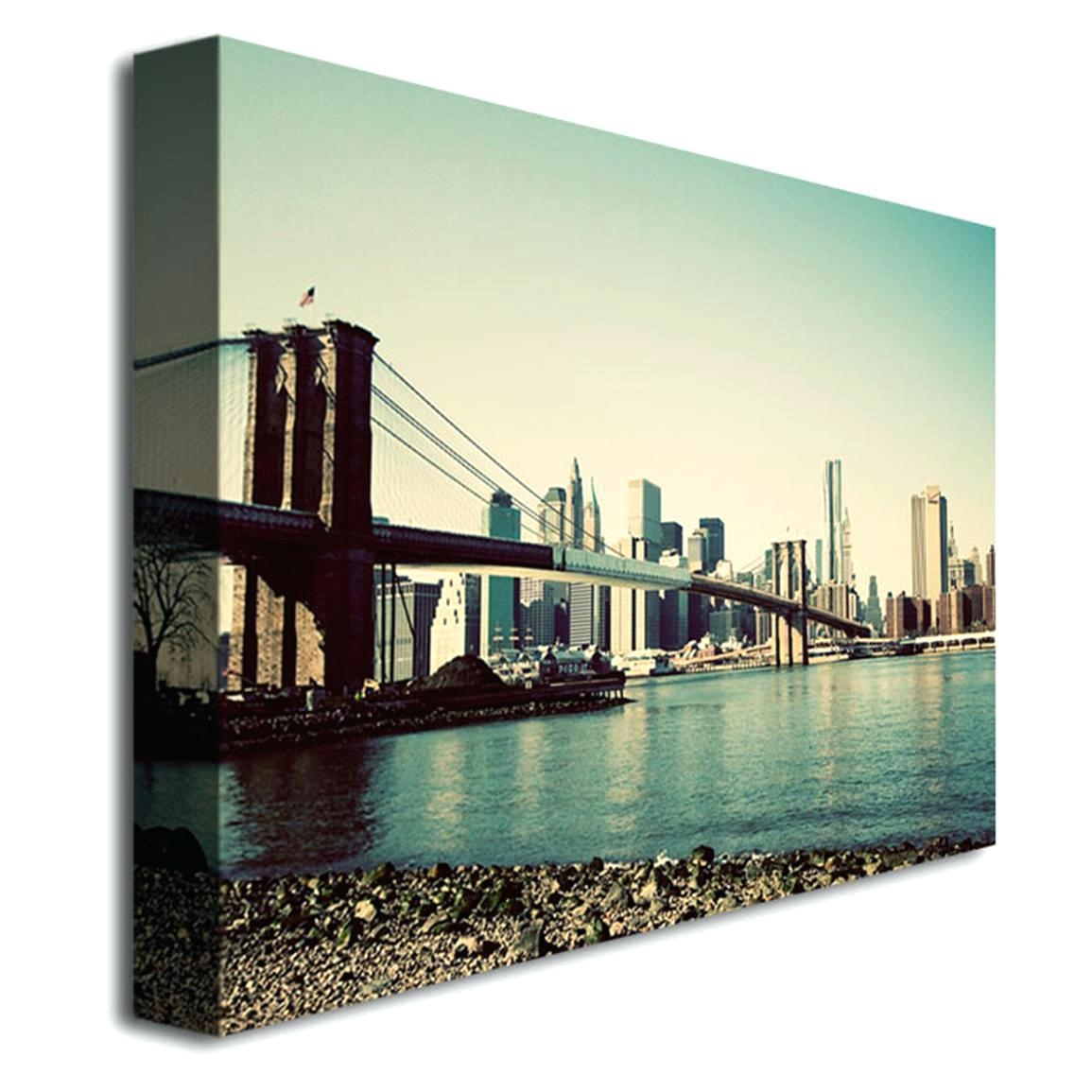 Wall Ideas : Brooklyn Bridge Glass Wall Art Zoom Ikea Brooklyn Pertaining To Ikea Brooklyn Bridge Wall Art (Image 18 of 20)