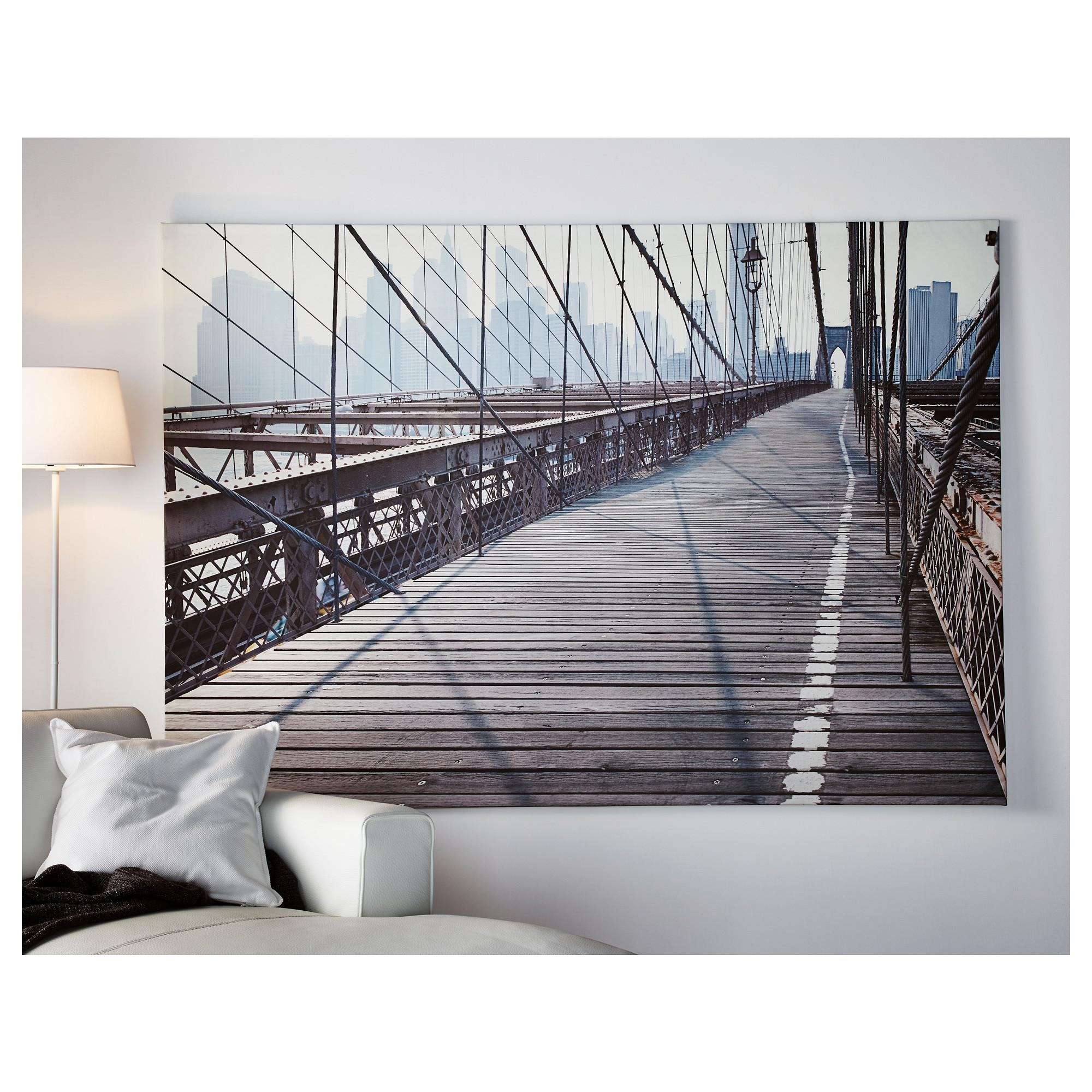 Featured Image of Ikea Brooklyn Bridge Wall Art
