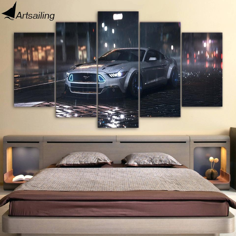 Wall Ideas : Car Themed Wall Art Automotive Metal Wall Art Car Within Ford Mustang Metal Wall Art (View 11 of 20)