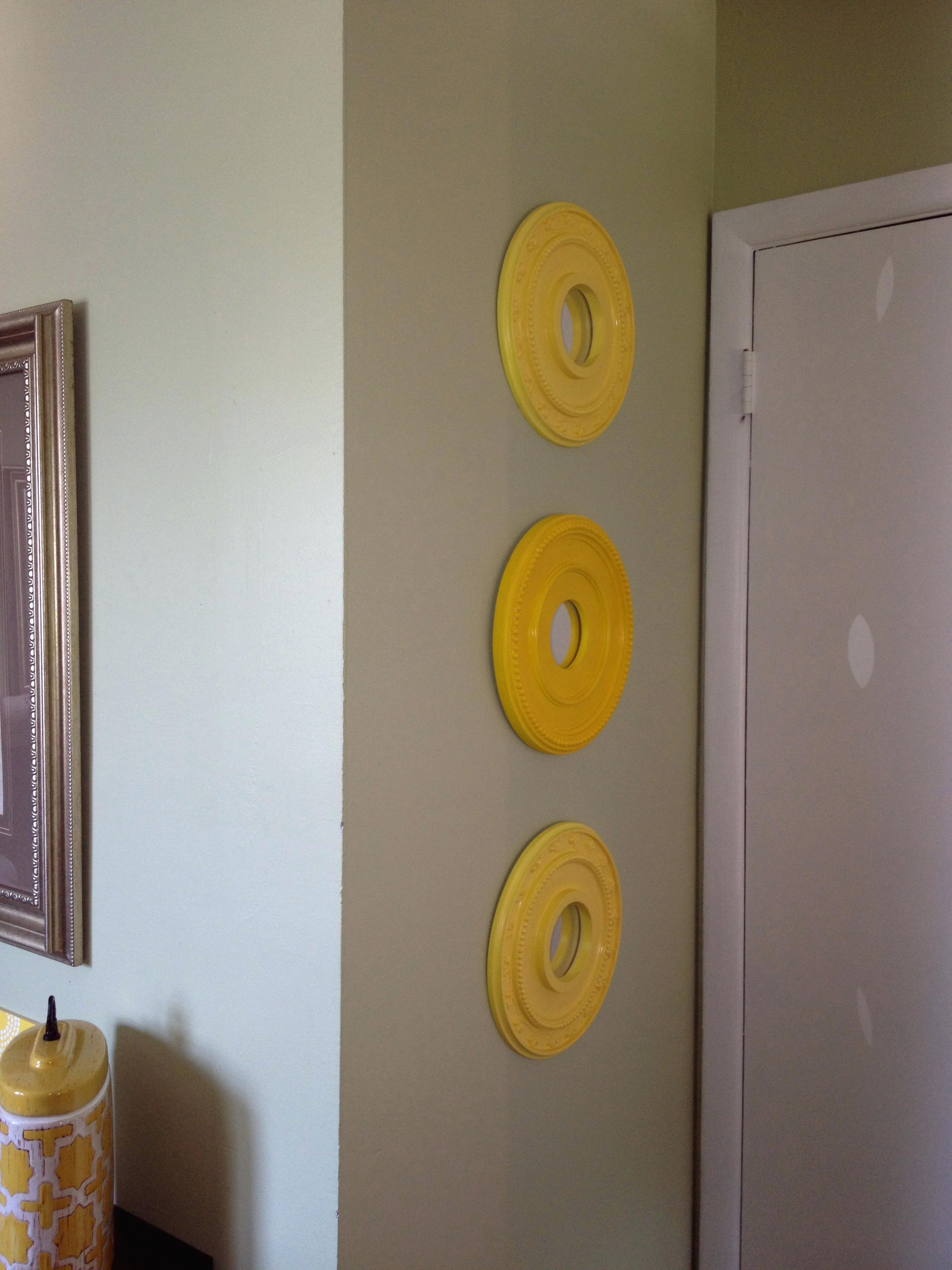 Wall Ideas : Ceiling Medallion Wall Art Ceiling Medallions Used As Intended For Medallion Tiles Wall Art (Image 10 of 20)