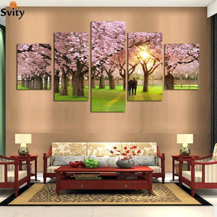 Wall Ideas : Cherry Blossom Wall Art Pier One Cherry Blossom Wall Inside Cherry Blossom Vinyl Wall Art (View 9 of 20)