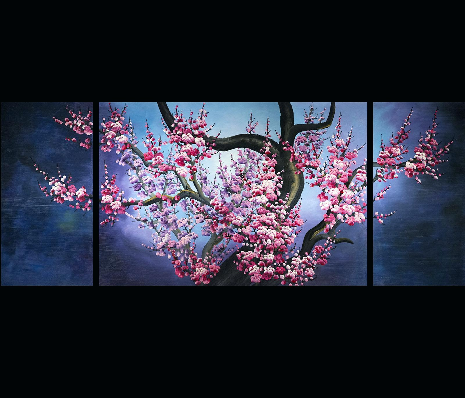 Wall Ideas : Cherry Blossom Wall Art Pier One Cherry Blossom Wall Within Cherry Blossom Vinyl Wall Art (View 15 of 20)