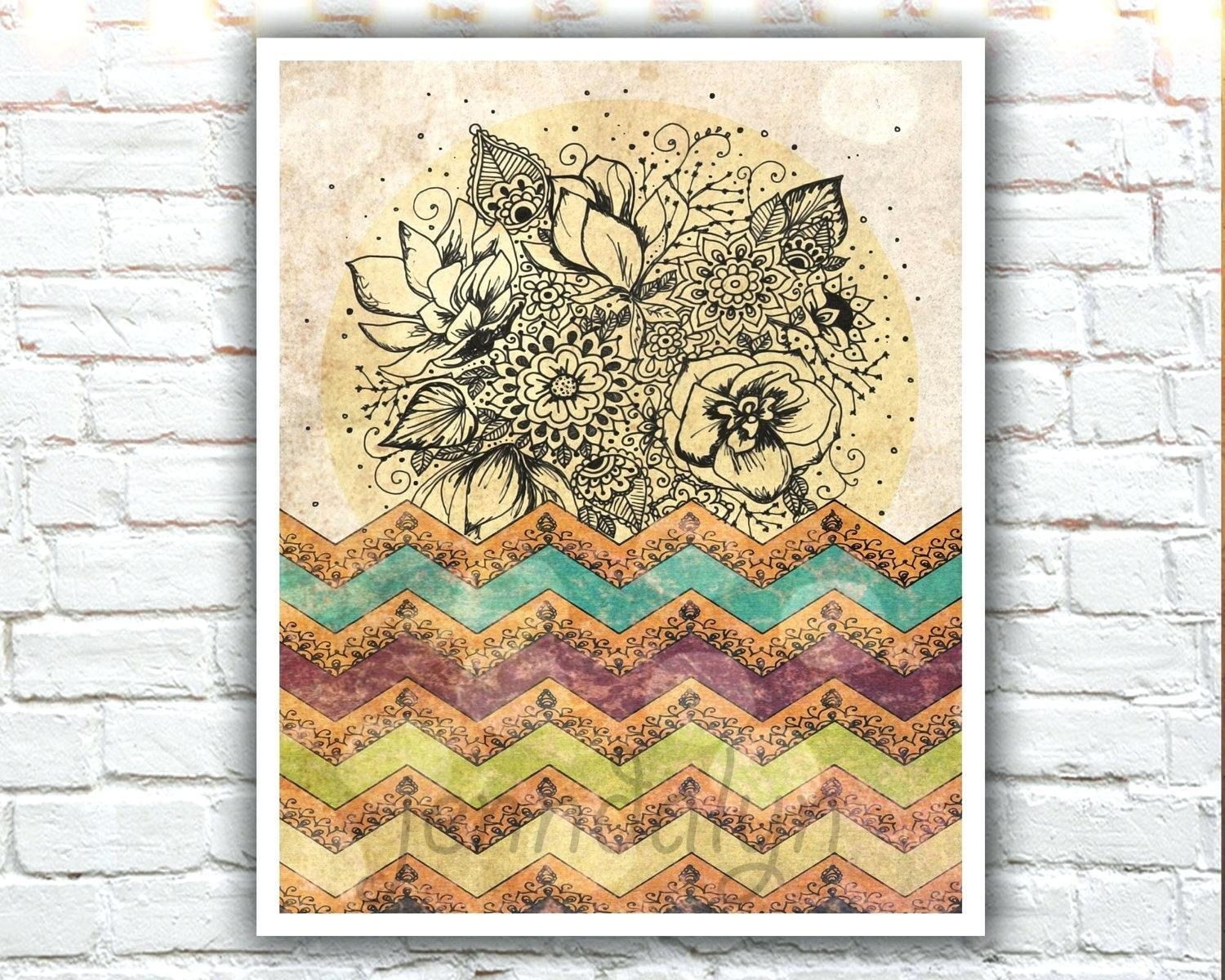 Featured Image of Boho Chic Wall Art