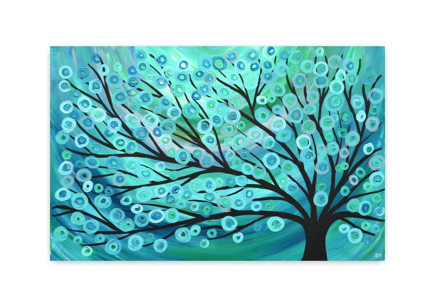 Wall Ideas : Coral Colored Wall Art 10416 Coral Turquoise Owl Within Wall Art Teal Colour (Image 17 of 20)