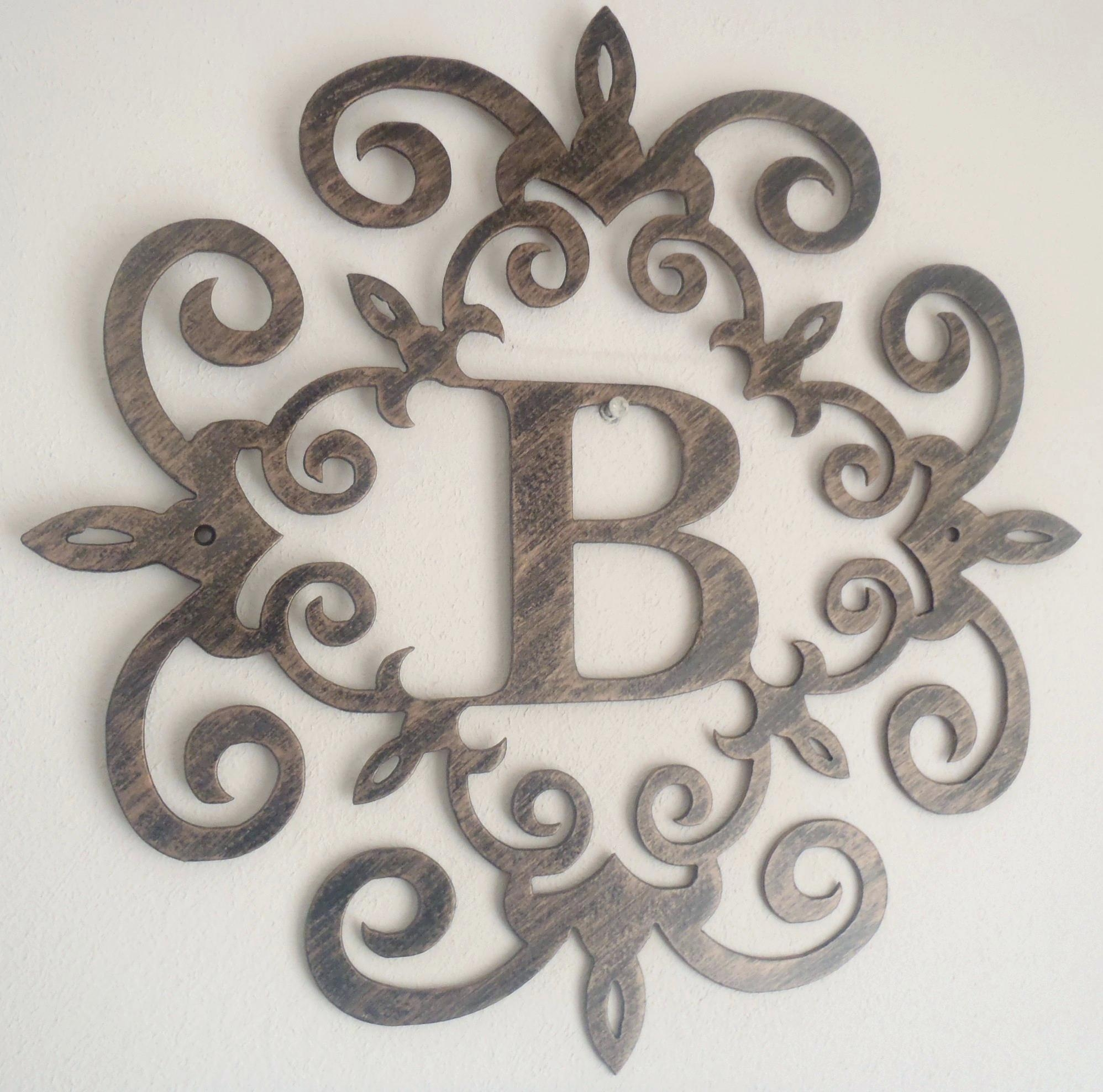 Wall Ideas: Decorative Wall Letters (View 11 of 20)
