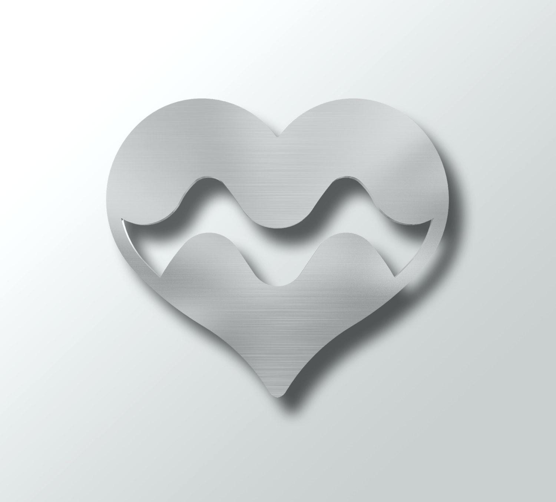 Wall Ideas : Distressed Metal Wall Decor Abstract Modern Heart 7A Regarding Heart Shaped Metal Wall Art (Image 15 of 20)
