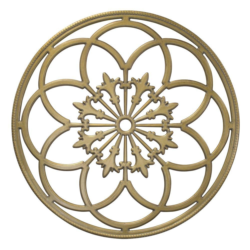 Wall Ideas : Diy Medallion Wall Art Click To Expand White Wood In White Medallion Wall Art (Image 7 of 20)