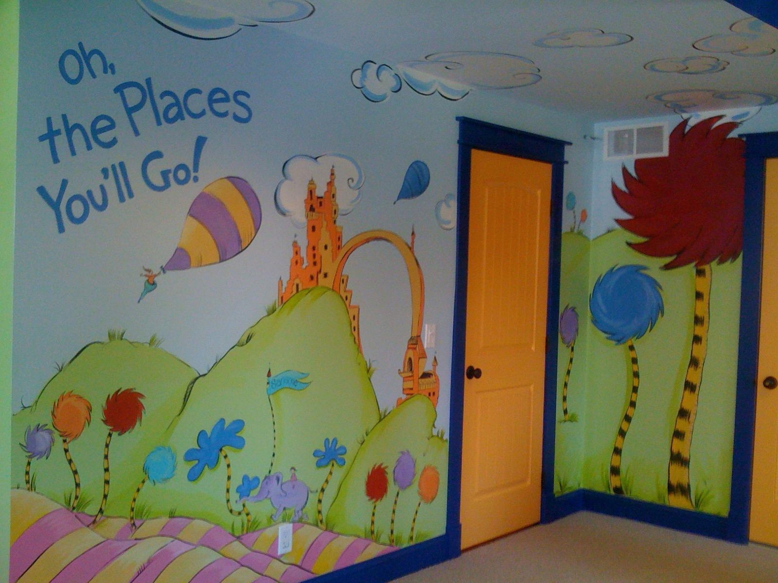 20 Best Ideas Dr Seuss Canvas Wall Art Wall Art Ideas