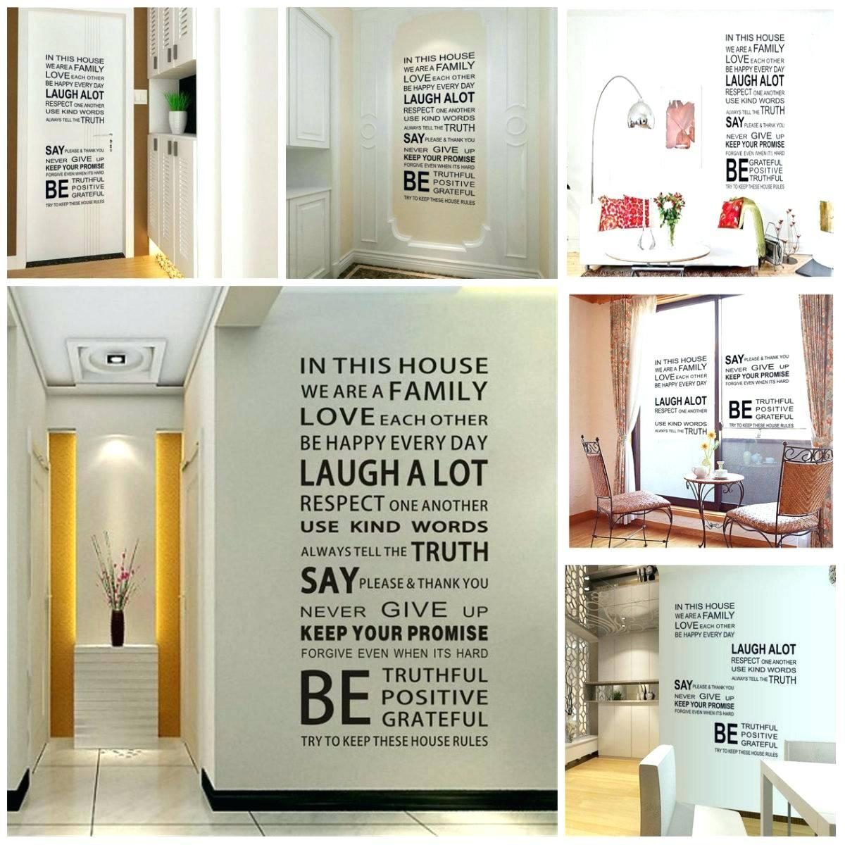 Wall Ideas : Family Rules Wall Art Personalized Huge Wall Quote With Regard To Personalized Family Rules Wall Art (View 7 of 20)