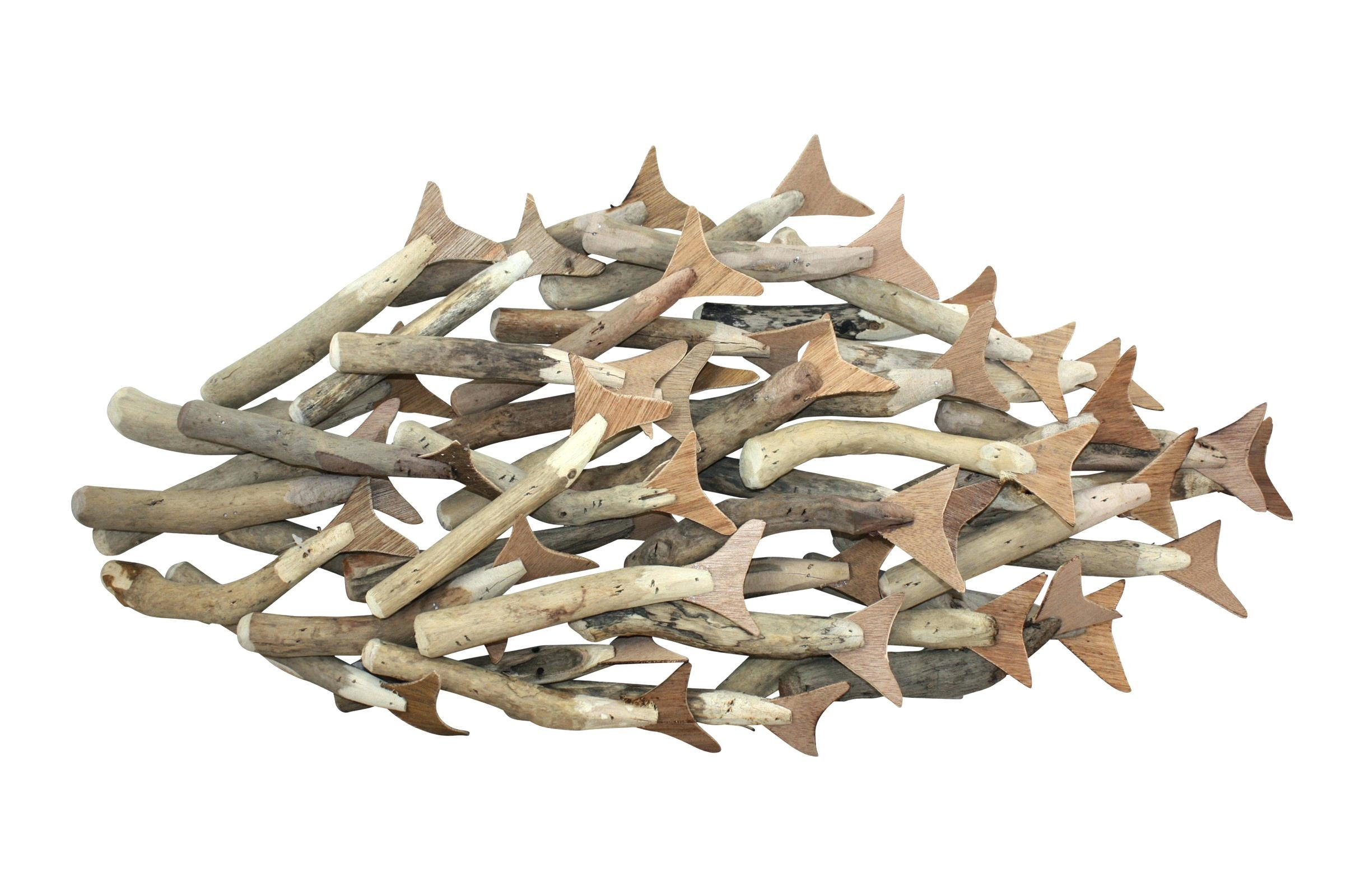 Wall Ideas : Fish Wall Art Metal Fish Art Decor Large Wooden Fish Pertaining To Metal School Of Fish Wall Art (Image 16 of 20)