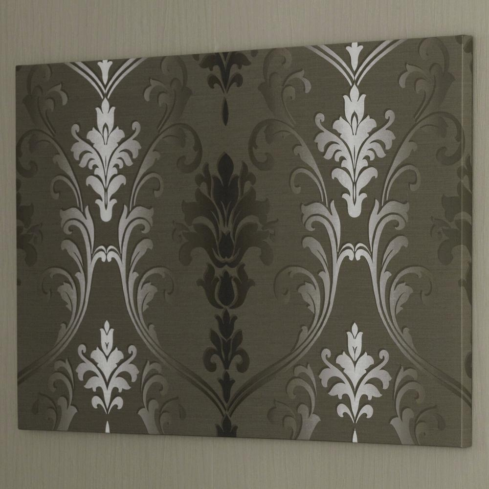 Wall Ideas : Framed Damask Wall Art Damask Prints Wall Art Diy In Diy Metal Wall Art (Image 14 of 20)