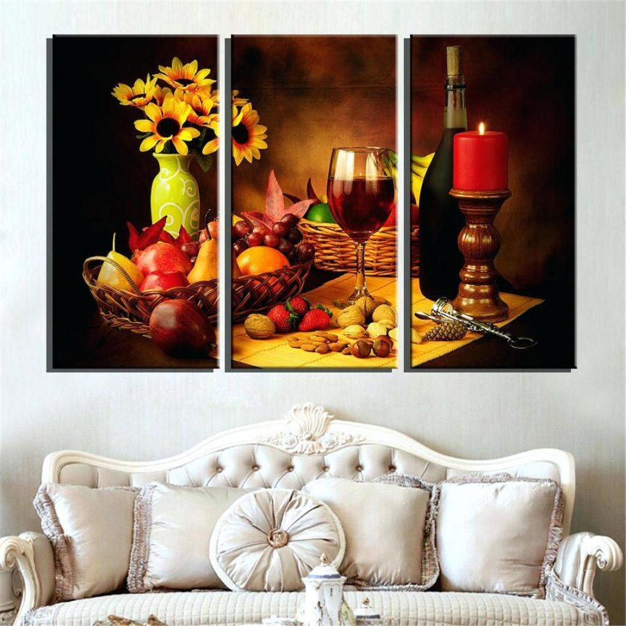 Wall Ideas : Fruit Medley Metal Wall Art Set Modern Fruit Wall Art Throughout Metal Grape Wall Art (Image 20 of 20)