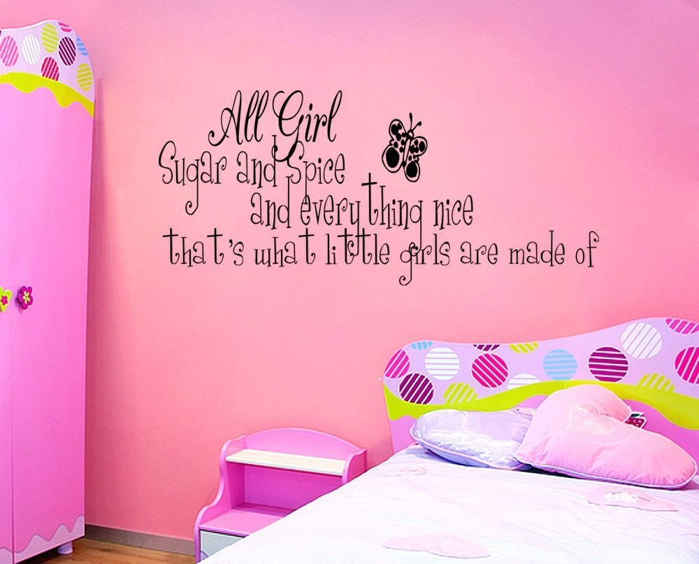 Wall Ideas: Girls Wall Art (Image 19 of 20)