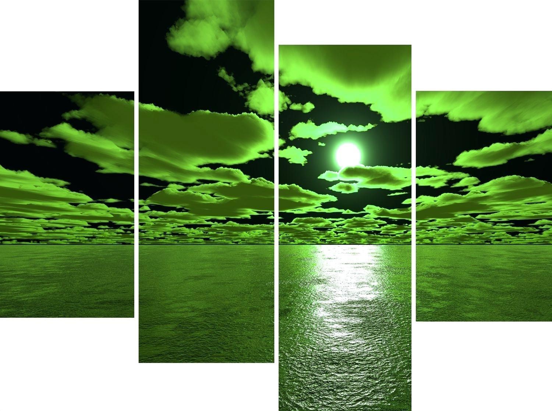Wall Ideas: Green Wall Art. Green Canvas Wall Art Uk (Image 19 of 20)