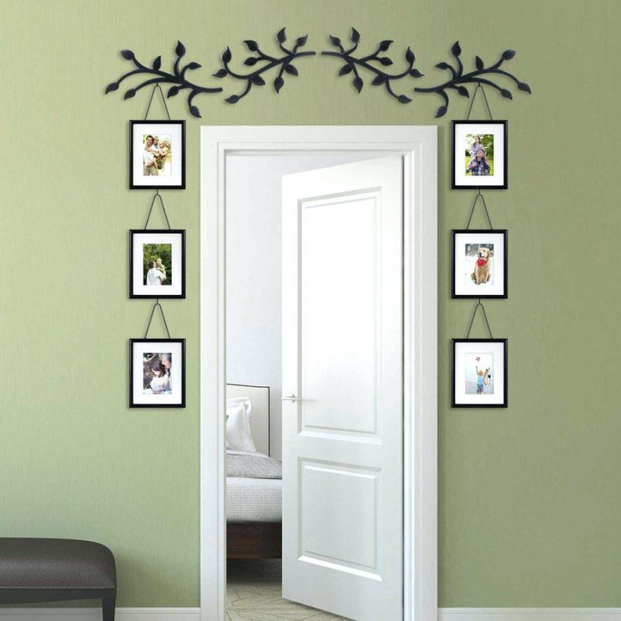 Wall Ideas : Hallway Family Tree Collage Picture Photo Wall Art In Family Wall Art Picture Frames (Image 17 of 20)