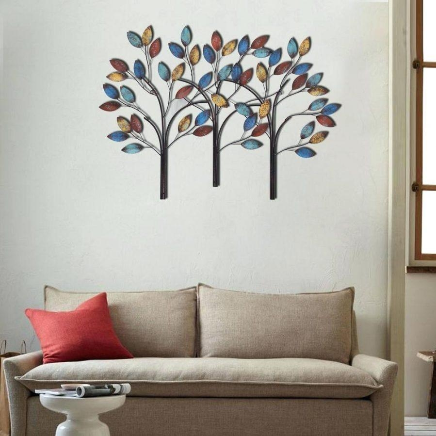 Wall Ideas : Hand Painted 3 Dimensional Wall Art Diy 3 Dimensional With Regard To Diy Metal Wall Art (Image 15 of 20)