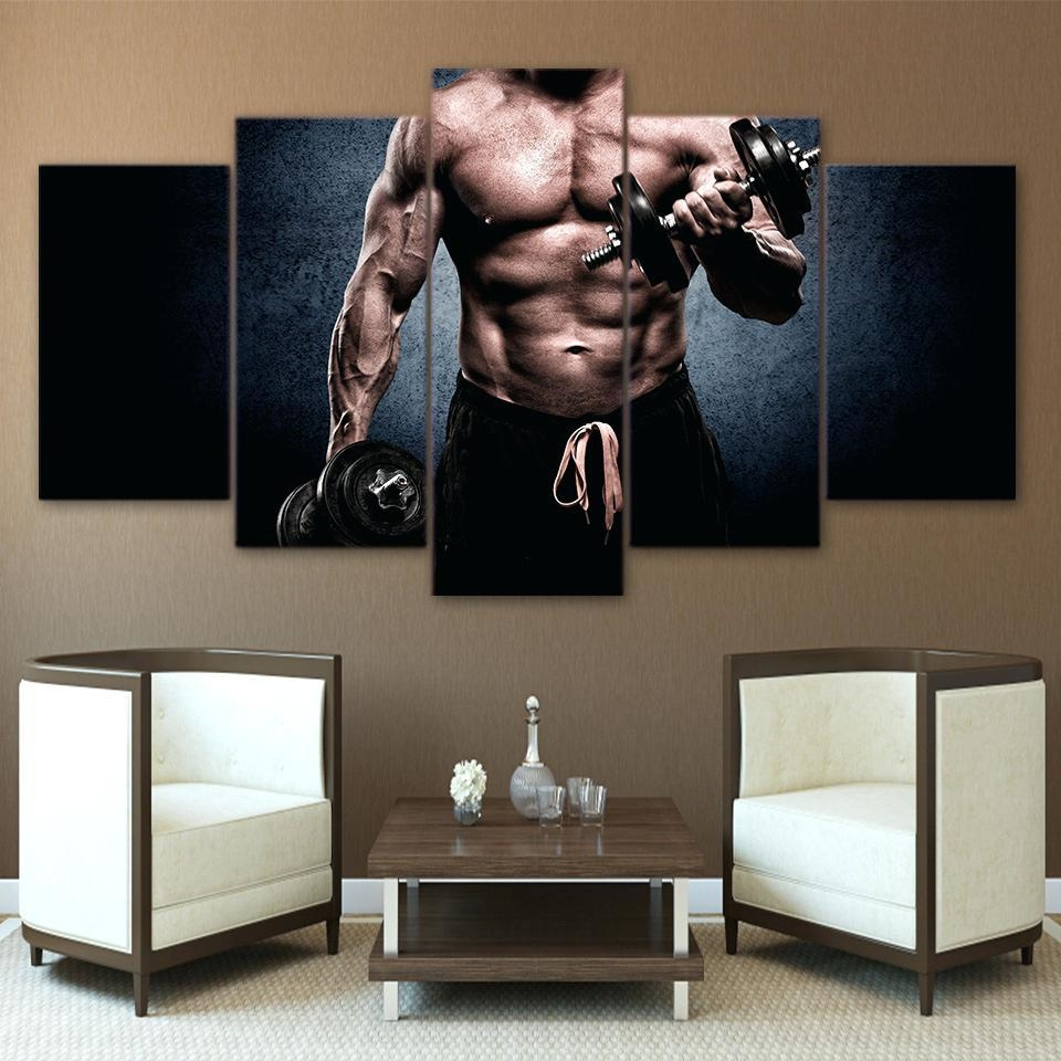 Wall Ideas: Home Gym Wall Decor. Home Gym Wall Decals (Image 16 of 20)